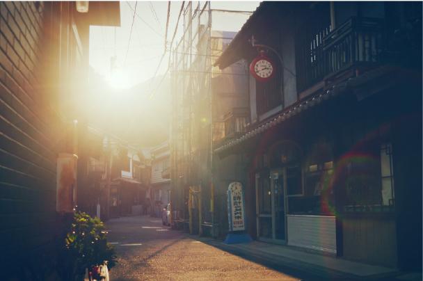豊町御手洗重要伝統的建造物群保存地区・松浦時計店